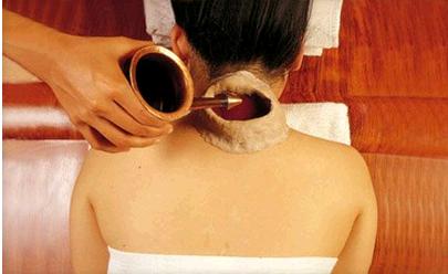 Как сделать прогревание спины