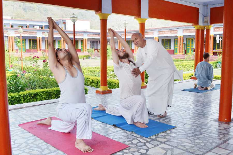 Yoga Divine life first image